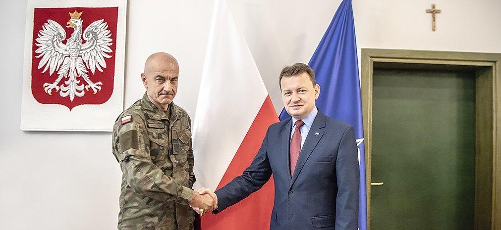 В Польше новый начальник Генштаба