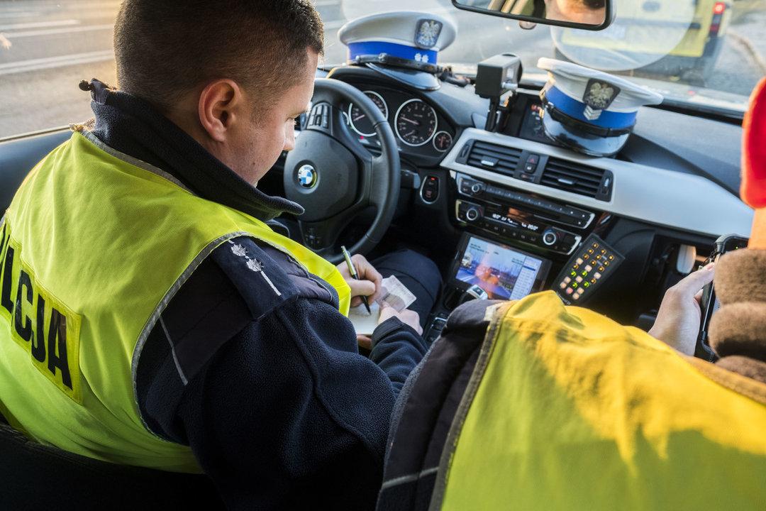 В Польше отменяют обязанность водителей иметь при себе техпаспорт и страховку