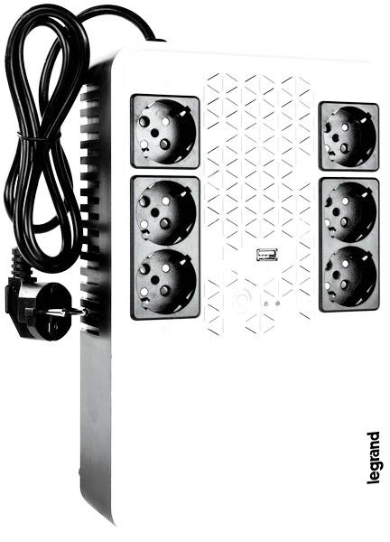 Legrand выпустил новый ИБП Keor Multiplug для дома и малых предприятий