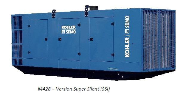 KOHLER-SDMO разработал новый кожух M428 для ДГУ KD Series