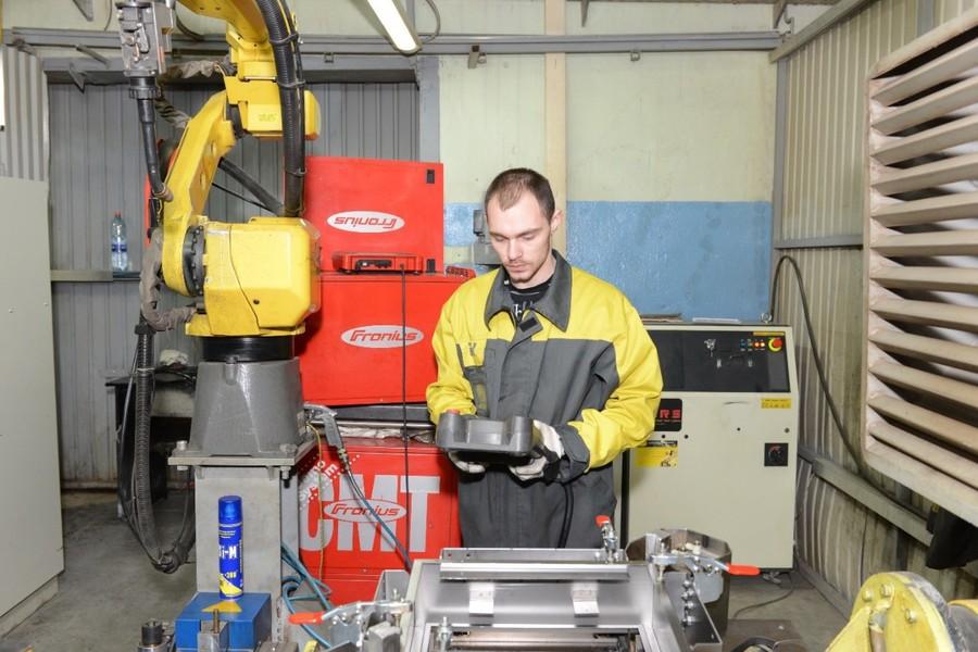 На производстве IEK GROUP автоматизирована сварка