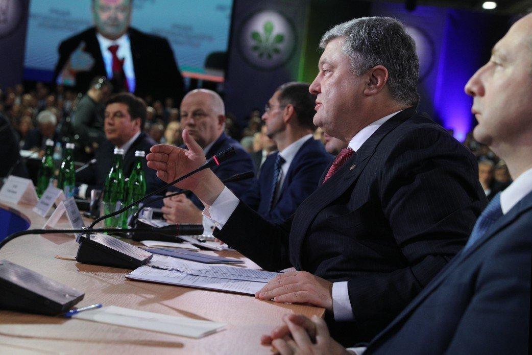 Налог на прибыль отменят только после сокращения расходов бюджета — Порошенко