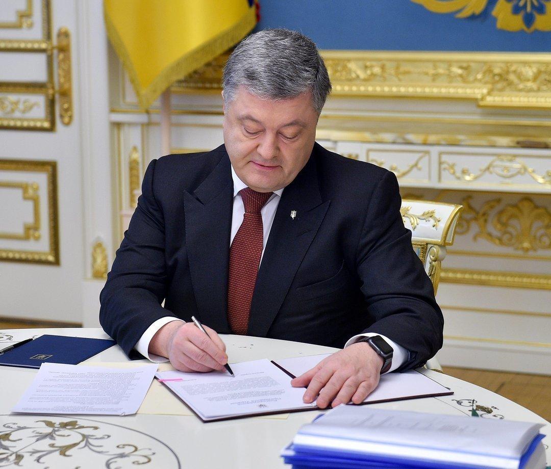 """Порошенко ветировал закон о """"едином окне"""" на таможне: против господдержки латифундистов"""