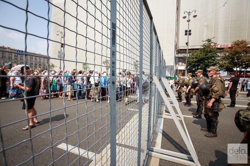 В МВД рассказали, как будут охранять порядок во время Крестного хода в Киеве