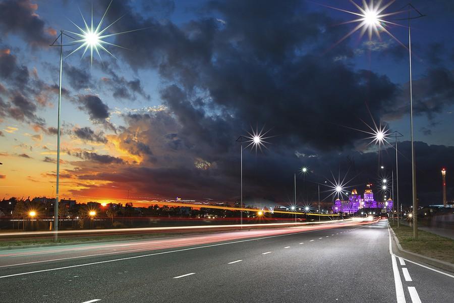 МСК «БЛ ГРУПП» установили светильники GALAD в рамках проекта освещения Олимпийского парка