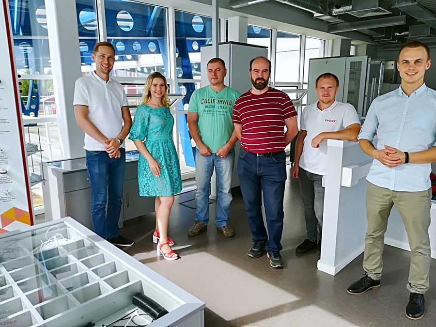 Компания «РОСЭК» на ДКС в Твери