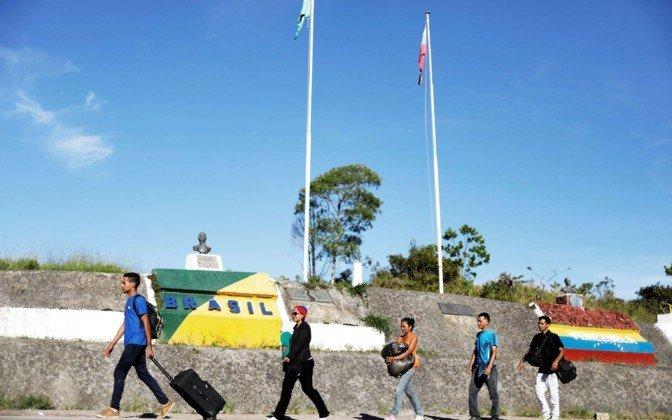 Бразилия закрыла границу с Венесуэлой