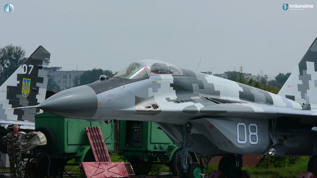 Два модернизированных самолета МиГ-29 получила украинская армия (видео)