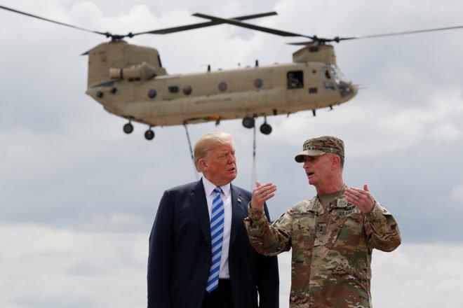 Трамп отменил военный парад из-за высокой стоимости