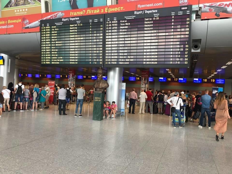 Пассажиропоток аэропорта Львова уже вырос в полтора раза — данные за 7 месяцев 2018 года
