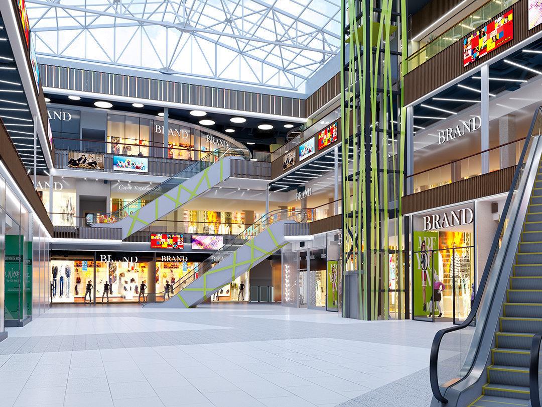 """Над """"Героев Днепра"""" в декабре откроют торговый центр"""