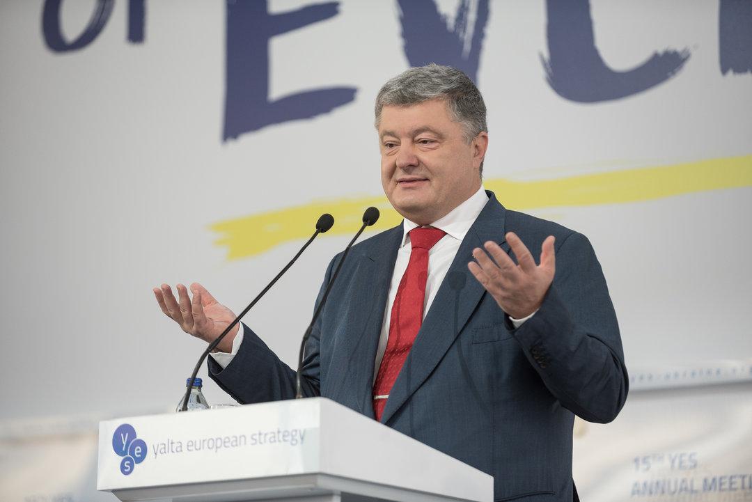 Только санкции могут остановить российскую агрессию на Азовском море — Порошенко