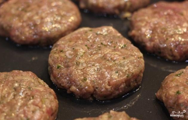 Вкусные котлеты из фарша свинина и говядина