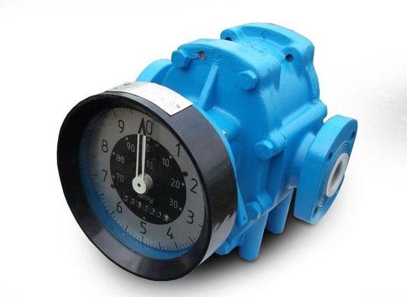 Счетчик жидкости для измерения объема продуктов переработки нефти