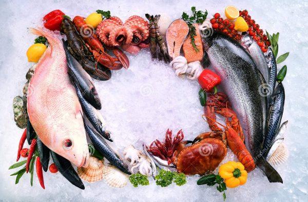 Заказать свежую рыбу и морепродукты